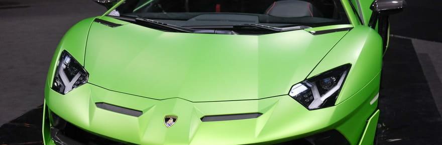 La Lamborghini Aventador SVJ en images au Mondial de l'Auto