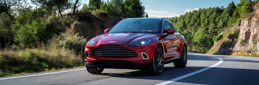 Aston Martin dévoile un SUV de rêve