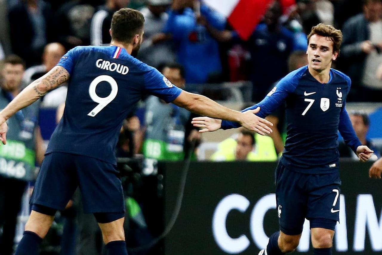 France - Albanie: de l'hymne au résultat, la salle soirée des Albanais, le résumé
