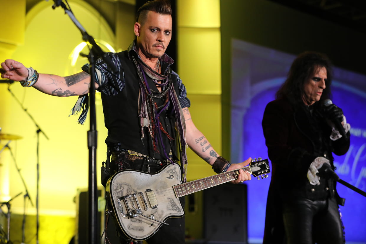 HELLFEST. Oui, oui, Johnny Depp sera à Clisson avec Hollywood Vampires !
