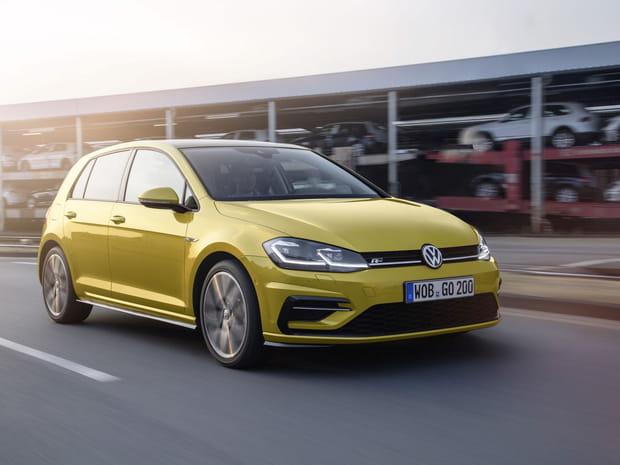 Les premières images de la nouvelle Volkswagen Golf 7restylée