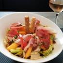 Plat : Midtown  - Salade méli-melon jambon (pdj) -