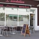 Crêperie-restaurant L'invitation  - la terrasse pour les beaux jours -