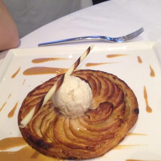 Dessert : L'Eveil des Sens  - Tarte fine aux pommes -
