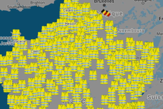 Carte Blocage Alsace 17 Novembre.Blocage 17 Novembre Le Direct Ou Sont Les Gilets Jaunes
