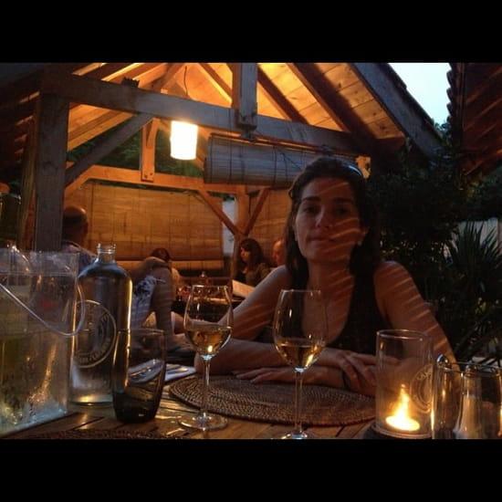 Restaurant : La Cabane  - Exterieur...jardin... -