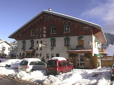 La Darbella  - en hiver -