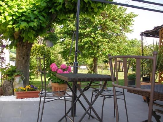 Le Petit Robinson  - Terrasse coté jardin -