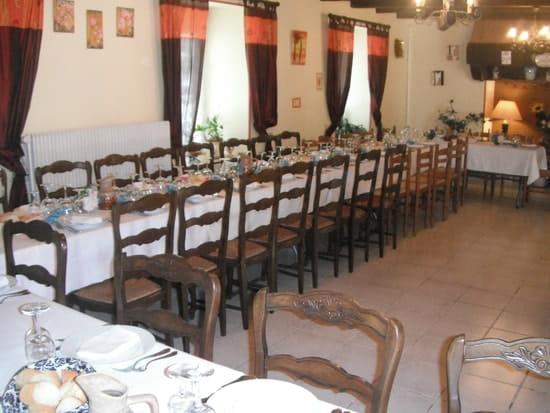 Auberge d' Ellem  - la salle en banquet -   © P Le Mével