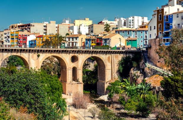 Villajoyosa, ville de pêcheurs en Espagne
