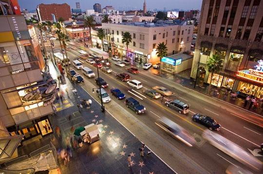 Hollywood Boulevard, l'avenue des stars