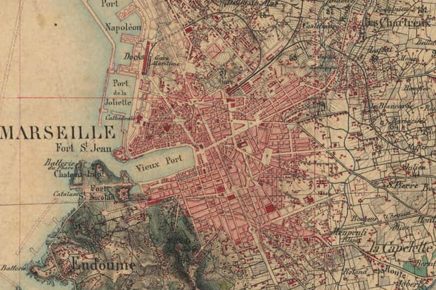 Marseille vers 1860