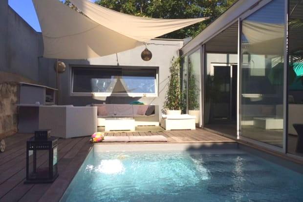Loft et piscine chauff e cach bordeaux - Lofts et associes bordeaux ...
