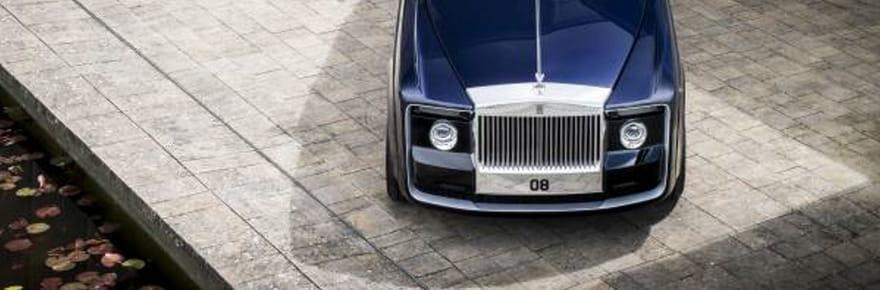 La Rolls-Royce Sweptail en images