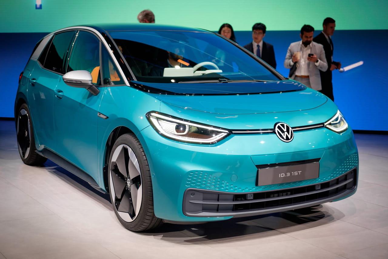 Volkswagen ID 3: un futur carton? Les photos au Salon de Francfort