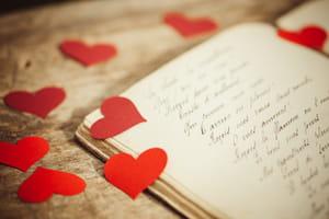 Lettre d'amour de la Saint-Valentin