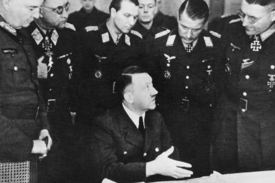 Les derniers jours d'Hitler en images