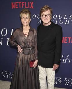 Jane Fonda et Robert Redford pour l'avant-première du film Our Souls at Night