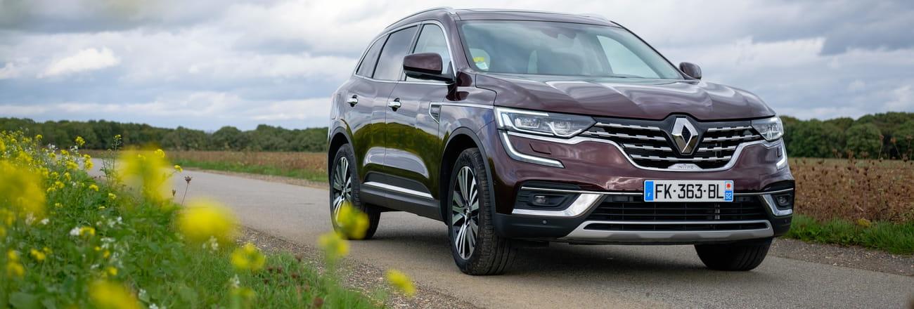 Essai du Renault Koleos: le confort avant tout