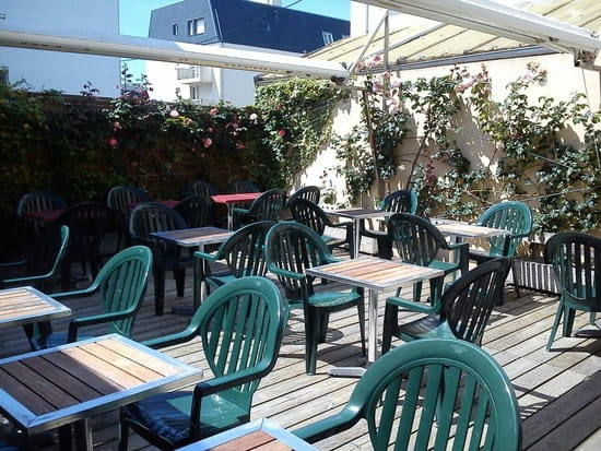 Restaurant : L'Estamineur  - La terrasse -