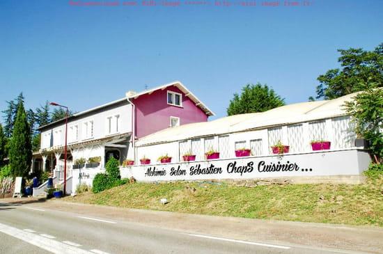 Restaurant : Sébastien Chapart  - Façade du restaurant -   © Sébastien Chap'S