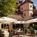 Restaurant : La Pommeraie  - Hostellerie de la Pommeraie -   © oui