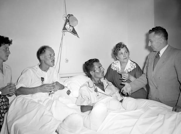 La légion d'honneur à l'hôpital
