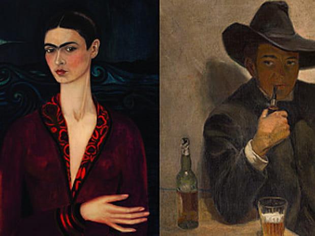 Frida Kahlo et Diego Rivera, la passion sur les cimaises de l'Orangerie