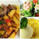 Brasserie Le Bignon  - Exemple de Menu du midi 3 plats du jours Restaurant le Bignon -