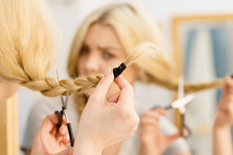 Se Couper Les Cheveux Tutos Conseils Et Guide D Achat Pour Une Coupe Maison