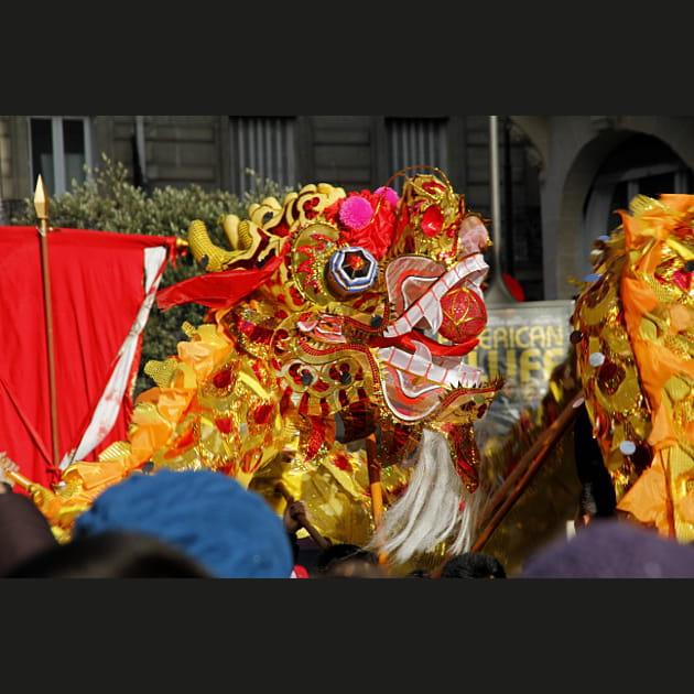 Paris célèbre le Nouvel an chinois