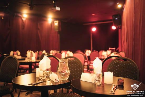 Restaurant : Les Folies Angevines  - Salle pyramide -   © Non