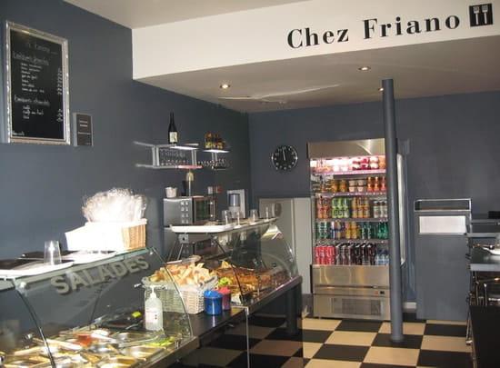 Chez Friano  - La salle du restaurant -