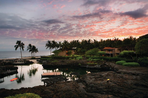 Le Four Seasons Hualalai à Hawaï