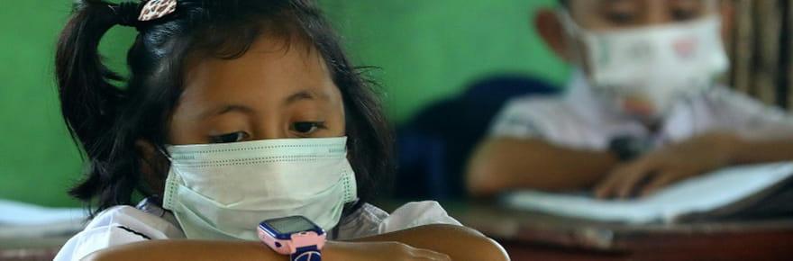 """Climat, malbouffe... """"Menace immédiate"""" pour la santé de tous les enfants, alerte l'ONU"""