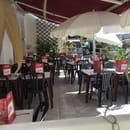 Restaurant : Le Capri  - Terrasse d'été au Capri -