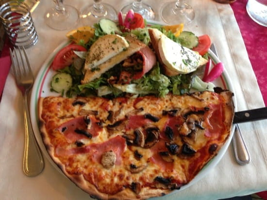 Plat : Le Parma Pizzeria Du Port