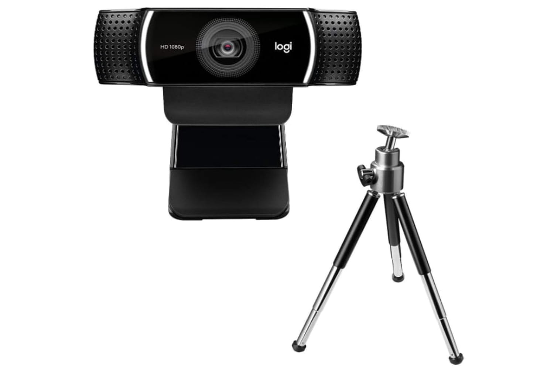 Bon plan webcam: une webcam Logitech + trépied à -30%