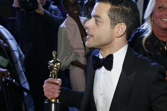 Rami Malek: un Oscar, un discours et une drôle de chute!