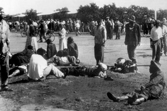Massacre de Sharpeville en Afrique du Sud