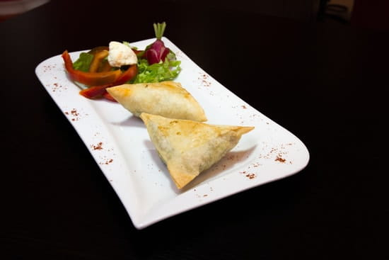 Restaurant indien Shalimar  - Samossa -   © Fidel Hernandes