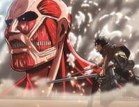 L'attaque des Titans : Blessure / La lutte pour le district de Trost