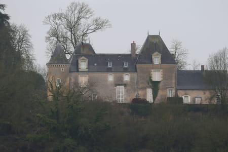 """Château de François Fillon, dit """"Manoir de Beaucé"""""""