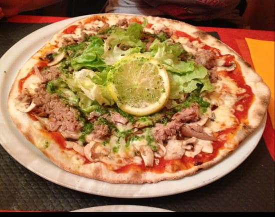 Plat : Anacapri  - Pizza Anacapri  -