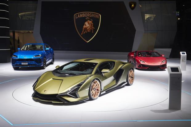 Une nouvelle Lamborghini dévoilée au Salon de Francfort