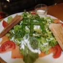 Brasserie Les Hauts du Lac  - Salade Norvégienne -   © brasserie les hauts du lac