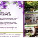 Restaurant : L'Escapade Gourmande  - Le restaurant -   © Facook64