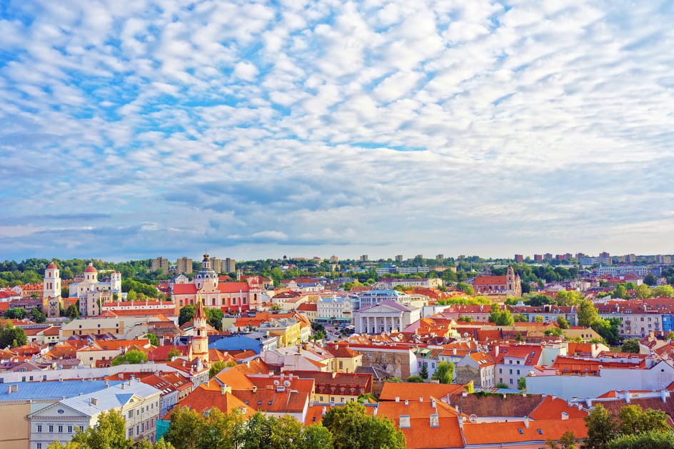 1- Vilnius, en Lituanie