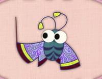 Le patchwork des animaux : Monsieur papillon de nuit