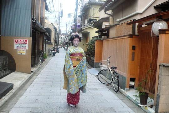 Les geishas, comble du raffinement